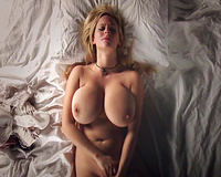 Unbelievable big tits wife masturbation in the hotel hubby film