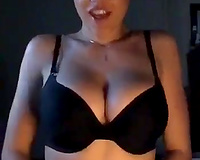 Hot big tits wife  With Glasses Blowing Hard and Gets Creampie free.
