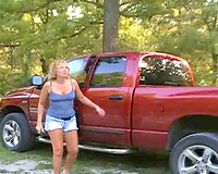 Wife blows another man in park while hubby records