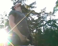 Kidnapped porn videos! Incredible outdoors rape scene