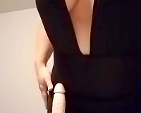 im slutty wife! Want it to be your hard cock
