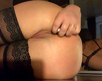 My perverted husband asked me to make naughty video