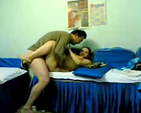 Busty Indian strumpet is truly enjoying missionary position