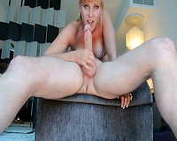 Great wife deepthroating husband's big boner