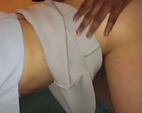 Hotwife getting a deep bbc fuck while husband films