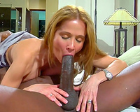 Big black cock creampies gorgeous wifey