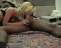 Tiny blonde wife Holly bred by black bull or My sexy wife riding a black bull