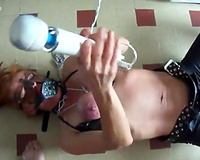 Big breasted wife abused by hubby