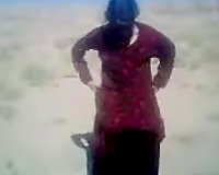Getting laid with my Pakistani horny white wife from Peshavar in desert