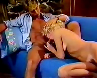 Shameless golden-haired loves outdoor sex and this babe loves giving blowjobs