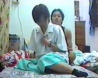 Amateur homemade porn vid of Chinese pair will make u hard