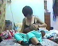 Amateur homemade porn vid of Chinese pair will make u hard