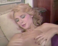 Two retro super hawt lesbian babes fuck every other with dildo