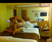 Hot blonde wife sex in vacation fucked by a black bull