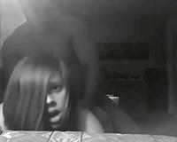 Chubby slutty wife fucked doggy facing her camera