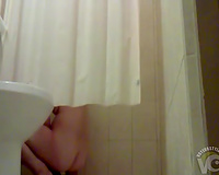 Wife gets off with the shower head