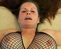 My wicked slutwife with shaggy cunt acquires group-fucked in missionary position
