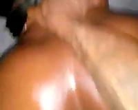 Black wife FFM threesome! Hot white wife loves his big black cock