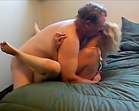 Sex in vacation! Gorgeous wife fucks husband's boss