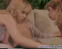 Two hawt and zealous girlfriends enchanting one horny fellow