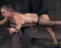 Kinky white milf is cheerful for brutal deepthroat act