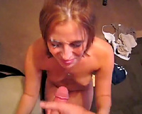 Wife sex in vacation! Another nasty cumshot to the face