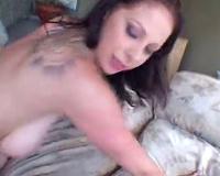 Gianna Michaels sucks dark weenie that bonks her