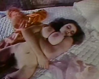 Vintage erotic scenes compilation with breasty white and swarthy cuties