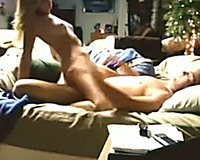 Emotional buxom golden-haired haired cowgirl was hammered from behind
