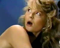Vintage porn compilation with agreeable blondie and 2 lesbian babes