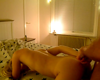 Hot slut wife fucked while anal toying sex in vacation