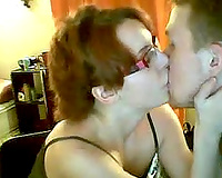 Nerdy redhead livecam hottie flashes her love muffins and pussy for specie