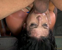 Beautiful majestic milf India double teamed by 2 males