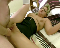 Chubby British girl Lleia receives screwed unfathomable in her butt in doggy position