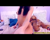 This cute 18yo teddy bear has a dong
