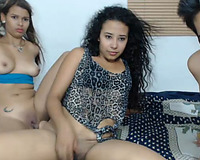 Hot Latinas Enjoy Sex Party in Hot Threesome
