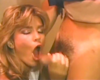 Sizzling hawt blondie gives doctor a worthwhile oral stimulation in the office