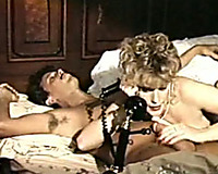 Depraved golden-haired secretary got her love tunnel screwed by her ally