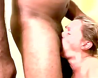 Deepthroat blowjob performed by white trash doxy is indeed sexy