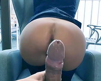Wife sex on vacation! Amateur Couple Vacation Anal