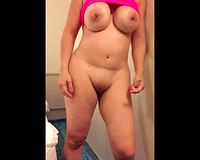 Busty wife bottomless Sex on Vacation