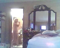 Hidden cam episode of my big beautiful woman aged black cock sluts changing underclothing