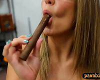I am banging this hussy missionary style and that babe is loving each minute