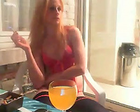 This livecam honey is astonishing and this babe doesn't have to undress to make me slutty
