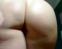 The majority seductive PAWG honey shows off her arse on cam for me