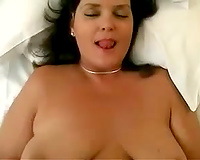 Attractive chunky woman acquires drilled in missionary position