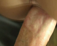 Close up POV with hot dark brown Jessika getting screwed from behind
