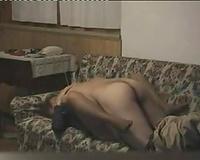 My torrid dark brown wifey enjoys getting hammered on livecam