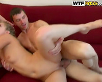 This extremely excited blond is a sexpert when it comes to threesomes