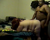 Really fantastic and uncommon cam session of truly large people